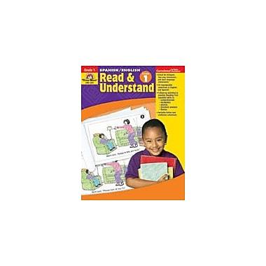Evan-Moor Educational Publishers Spanish/English Read & Understand Language Arts Workbook, Grade 1 [Enhanced eBook]
