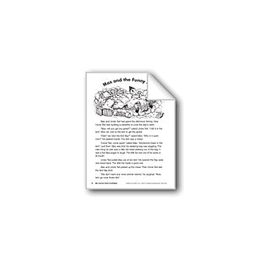 Evan-Moor Educational Publishers Max and the Funny Fox/Max Y El Zorro Gracioso Language Arts Workbook, Grade 2 [eBook]