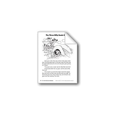 Evan-Moor Educational Publishers The Three Billy Goats Gruff/Los Tres Cabros Grunon Language Arts Workbook, Grade 2 [eBook]