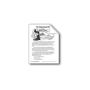 Evan-Moor Educational Publishers The Gingerbread Man/El Hombrecito De Galleta Language Arts Workbook, Grade 2 [eBook]