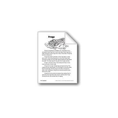 Evan-Moor Educational Publishers Frogs/Las Ranas Language Arts Workbook, Grade 2 [eBook]