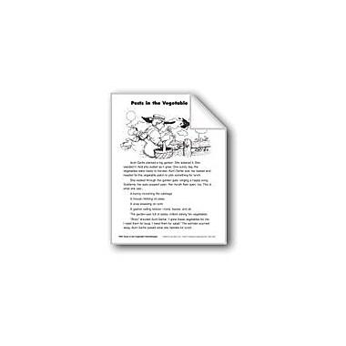 Evan-Moor Educational Publishers Pests In the Vegetable Patch/Alimanas En El Huerto Language Arts Workbook, Grade 2 [eBook]