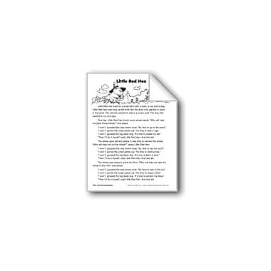 Evan-Moor Educational Publishers The Little Red Hen/La Gallinita Roja Language Arts Workbook, Grade 2 [eBook]