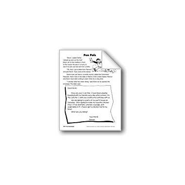 Evan-Moor Educational Publishers Pen Pals/Amigos Por Correspondencia Language Arts Workbook, Grade 2 [eBook]
