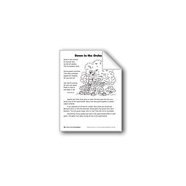 Evan-Moor Educational Publishers Down In the Orchard/Alla En El Huerto Language Arts Workbook, Grade 2 [eBook]
