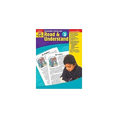 Evan-Moor Educational Publishers Spanish/English Read & Understand Language Arts Workbook, Grade 2 [Enhanced eBook]