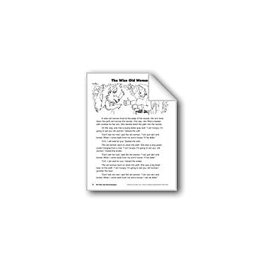 Evan-Moor Educational Publishers The Wise Old Woman/La Vieja Sabia Language Arts Workbook, Grade 3 [eBook]