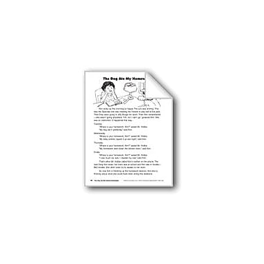 Evan-Moor Educational Publishers The Dog Ate My Homework/El Perro Se Comio Mi Tarea Language Arts Workbook, Grade 3 [eBook]