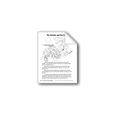 Evan-Moor Educational Publishers The Tortoise and the Hare/La Tortuga Y La Liebre Language Arts Workbook, Grade 3 [eBook]