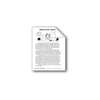 Evan-Moor Educational Publishers Shannon Lucid-Astronaut/Shannon Lucid: Astronauta Language Arts Workbook, Grade 3 [eBook]