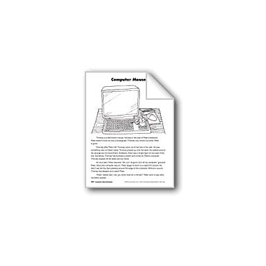 Evan-Moor Educational Publishers Computer Mouse/El Raton De La Computadora Language Arts Workbook, Grade 3 [eBook]
