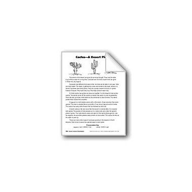 Evan-Moor Educational Publishers Cactus: A Desert Plant/El Cacto: Una Planta Del Desierto Workbook, Grade 3 [eBook]