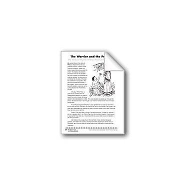 Evan-Moor Educational Publishers The Warrior and the Princess/El Guerrero Y La Princesa Workbook, Grade 4 - Grade 8 [eBook]