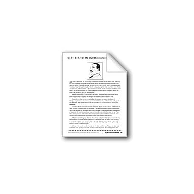 Evan-Moor Educational Publishers We Shall Overcome/Venceramos Language Arts Workbook, Grade 4 - Grade 8 [eBook]