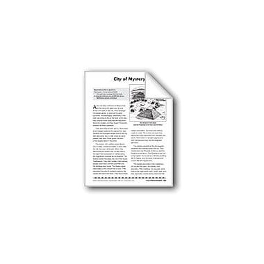 Evan-Moor Educational Publishers City of Mystery/Ciudad De Misterio Language Arts Workbook, Grade 4 - Grade 8 [eBook]