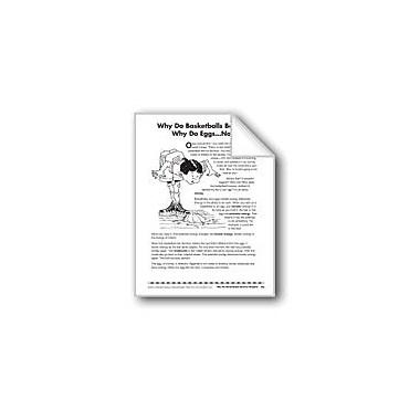 Evan-Moor Educational Publishers Why Do Basketballs Bounce?/A Por Que Rebotan Las Pelotas De Basquetbol? Workbook [eBook]