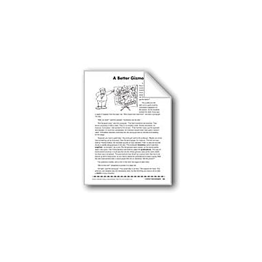 Evan-Moor Educational Publishers A Better Gizmo/El Mejor Invento Language Arts Workbook, Grade 4 - Grade 8 [eBook]