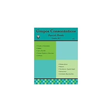 Guerra Publishing Grupos Conson Nticos Language Arts Workbook, Kindergarten - Grade 5 [eBook]