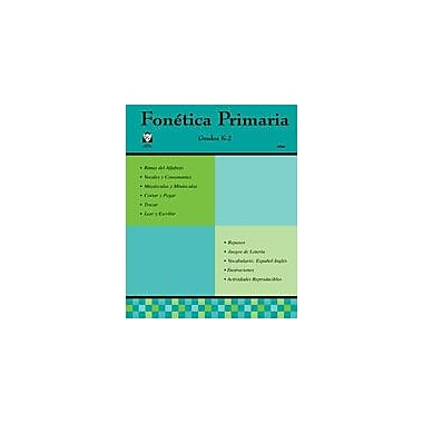 Guerra Publishing Fonetica Primaria Language Arts Workbook, Grade 1 - Grade 12 [Enhanced eBook]