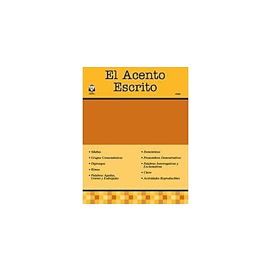 Guerra Publishing El Acento Escrito Language Arts Workbook, Grade 1 - Grade 12 [eBook]