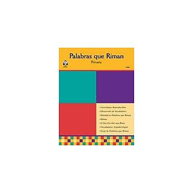 Guerra Publishing Palabras Que Riman Language Arts Workbook, Kindergarten - Grade 5 [eBook]