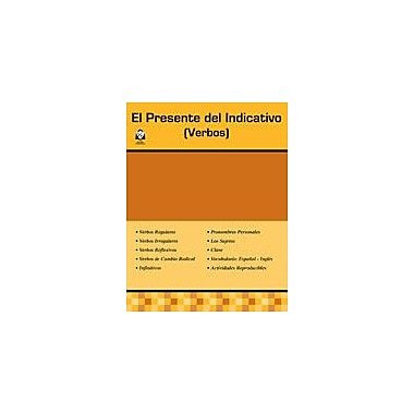 Guerra Publishing El Presente Del Indicativo Language Arts Workbook, Grade 3 - Grade 12 [Enhanced eBook]