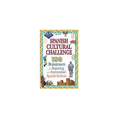Good Year Books Spanish Cultural Challenge: Brainteasers for Beginning and Intermediate Spanish Students Workbook [eBook]