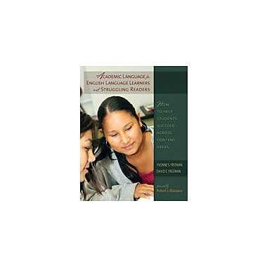 Heinemann Publishing Academic Language For Ells and Struggling Readers Language Arts Workbook, Grade 6 - Grade 12 [eBook]