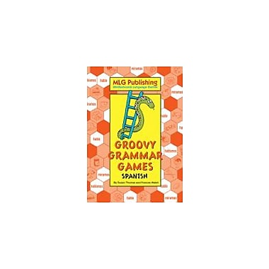 MLG Publishing Groovy Grammar Games Spanish Language Arts Workbook, Grade 5 - Grade 9 [eBook]