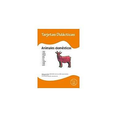 Miamaus Verlag Publishing Flashcards: Animales Domesticos Language Arts Workbook, Preschool - Grade 3 [eBook]