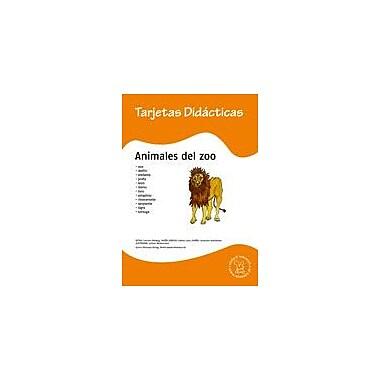 Miamaus Verlag Publishing Flashcards: Animales Del Zoo Language Arts Workbook, Preschool - Grade 3 [eBook]