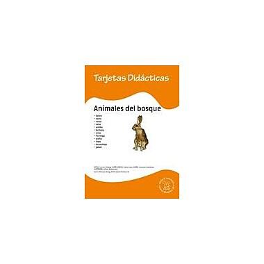 Miamaus Verlag Publishing Flashcards: Animales Del Bosque Language Arts Workbook, Preschool - Grade 3 [eBook]