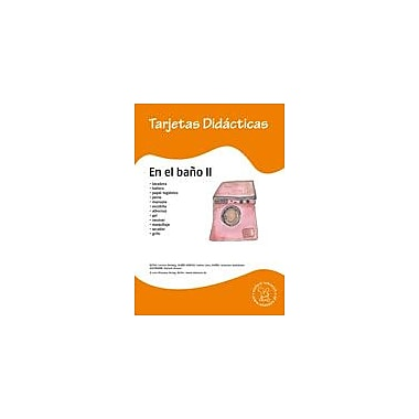 Miamaus Verlag Publishing Flashcards: En El Bano Ii Language Arts Workbook, Preschool - Grade 3 [eBook]