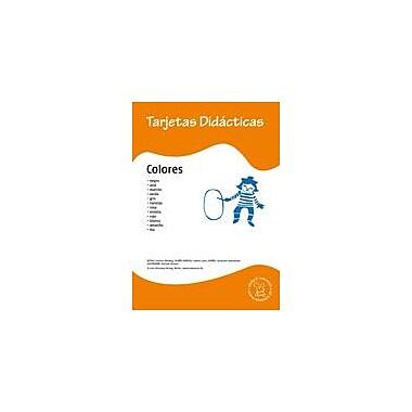 Miamaus Verlag Publishing Flashcards: Colores Language Arts Workbook, Preschool - Grade 3 [eBook]