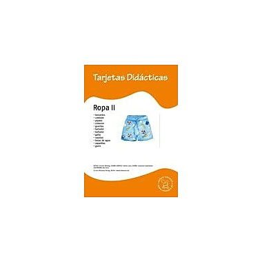 Miamaus Verlag Publishing Flashcards: Ropa Ii Language Arts Workbook, Preschool - Grade 3 [eBook]