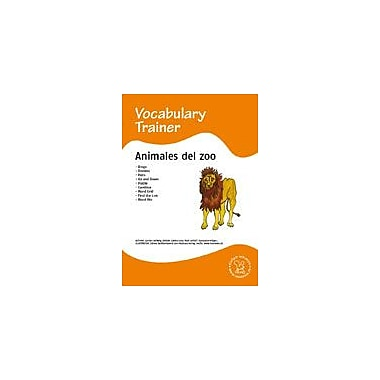 Miamaus Verlag Publishing Spanish Vocabulary Trainer: Animals In the Zoo Language Arts Workbook, Grade 1 - Grade 5 [eBook]