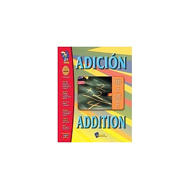 On The Mark Press Adicion/Addition (Spanish/English) Language Arts Workbook, Grade 1 - Grade 3 [eBook]