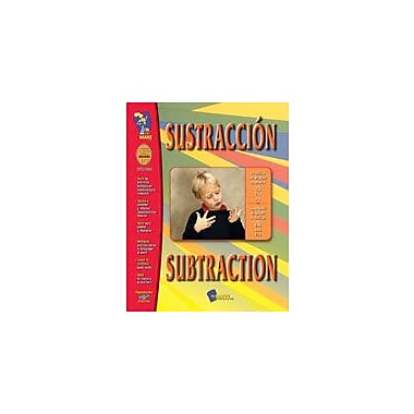 On The Mark Press Sustraccion/Subtraction (Spanish/English) Language Arts Workbook, Grade 1 - Grade 3 [Enhanced eBook]