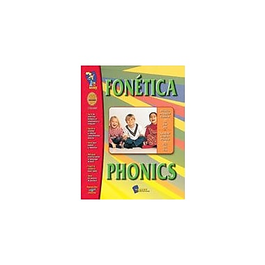 On The Mark Press Fonetica / Phonics (Spanish/English) Language Arts Workbook, Grade 1 - Grade 3 [Enhanced eBook]