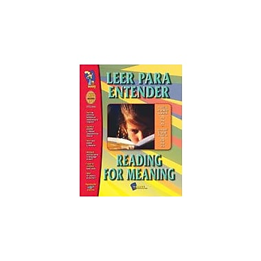 On The Mark Press Leer Para Entender / Reading For Meaning (Sp/En) Language Arts Workbook, Grade 1 - Grade 3 [Enhanced eBook]