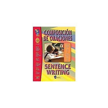On The Mark Press Composicion De Oraciones/Sentence Writing (Spanish/English) Workbook, Grade 1 - Grade 3 [Enhanced eBook]