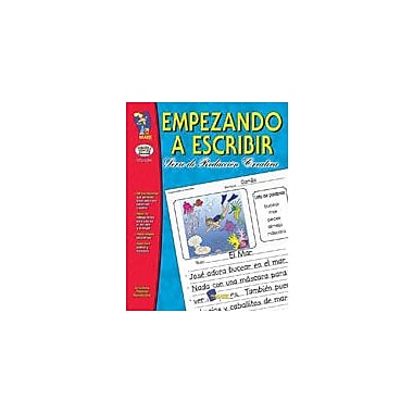 On The Mark Press Empezando A Escribir Seire De Redaccion Creativa Spanish Grades 1-3 Workbook [Enhanced eBook]