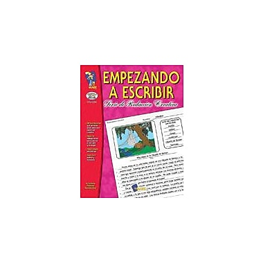 On The Mark Press Empezando A Escribir Seire De Redaccion Creativa Spanish Grades 4-6 Workbook [Enhanced eBook]