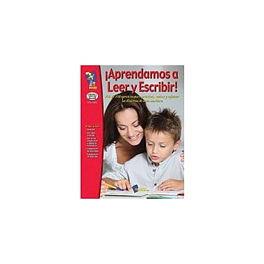 On The Mark Press Aprendamos A Leer Y Escribir! Primer A Tereer Grado Language Arts Workbook, Grade 1 - Grade 3 [eBook]