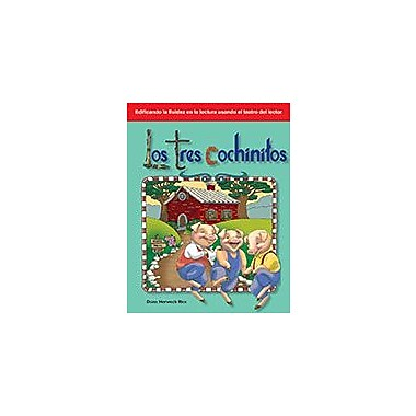 Shell Education Los Tres Cochinitos (The Three Little Pigs) Language Arts Workbook, Kindergarten - Grade 1 [eBook]