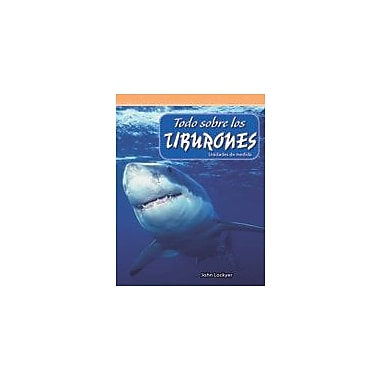 Shell Education Todo Sobre Los Tiburones (All About Sharks) Language Arts Workbook, Grade 4 [eBook]