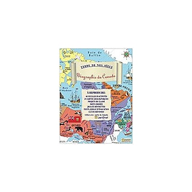 LearnSmart Publishing Geographie Du Canada (French) Social Studies Workbook, Grade 3 - Grade 7 [eBook]
