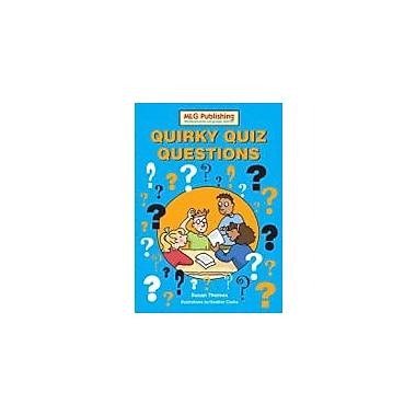 MLG Publishing Quirky Quiz Questions French Language Arts Workbook, Grade 5 - Grade 9 [eBook]