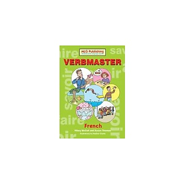 MLG Publishing Verbmaster French Language Arts Workbook, Grade 5 - Grade 9 [eBook]