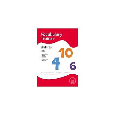 Miamaus Verlag Publishing French Vocabulary Trainer: Numbers Language Arts Workbook, Grade 1 - Grade 5 [eBook]